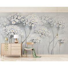 White Flower Wallpaper, Of Wallpaper, Large Floral Wallpaper, Floral Pattern Wallpaper, Botanical Wallpaper, Watercolor Wallpaper, Fashion Wallpaper, Bedroom Wallpaper, Painting Wallpaper