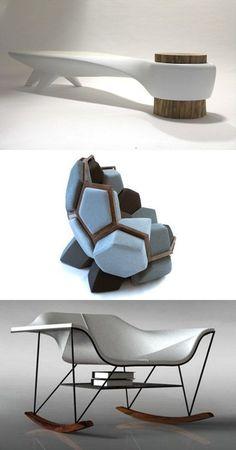 Stunning Futuristic Seating Furniture Designs to Provide You Comfort #futuristicfurniture