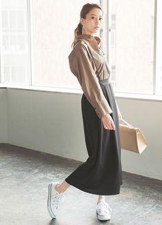 vivi10月号,ViViモデル,河北麻友子,ファッション,シャツ,さらっとシンプル