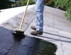 Applying A Gardner Ashpalt Roof And Foundation     Like Us On Facebook:  Https