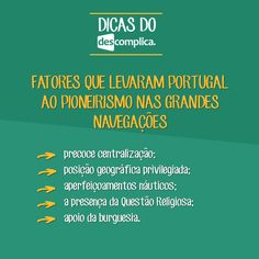 Anota aí os fatores que levaram Portugal ao pioneirismo nas Grandes Navegações. Clique na imagem para assistir à aula em vídeo sobre o assunto.