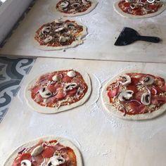 Pizzaproduksjon
