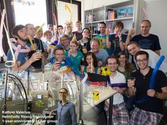 """Between at KIT, it was the of the Helmholtz Young Investigator group of Kathrin Valerius on """"Analysis of KATRIN data to measure the neutrino mass and search for new physics""""     1 Year Anniversary, Scientists, Physics, Student, Kit, Group, Search, Wedding Ring, 1st Anniversary"""
