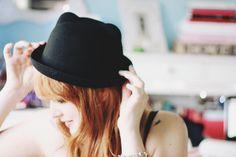 Ears in my hat by Honey Pie!, via Flickr