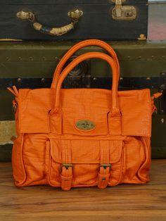 I love an orange purse