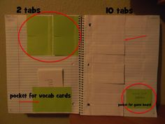 Foldables in Interactive Science Notebook (examples)