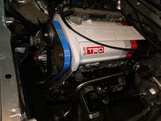 power enterprise timing belt installed Toyota Starlet, Ae86, Timing Belt, Engineering, Car, Automobile, Technology, Autos, Cars