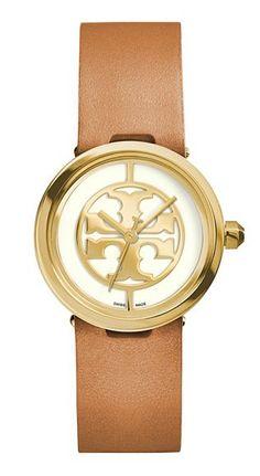 f04fd4d77ae67 Classic Gifts  Tory Burch Reva Watch Jewelry Logo