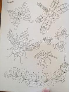 Haida design Native American Wisdom, Haida Art, Inuit Art, Native Design, Feather Painting, Fashion Design Drawings, Canadian Art, American Indian Art, Indigenous Art
