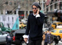 New York style -- menswear