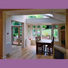 From indigo architects 1930s Kitchen Extension, Kitchen Extension Layout, 1930s House Extension, Rear Extension, Extension Ideas, 1930s Semi Detached House, Kitchen Patio Doors, Internal Design, House Extensions