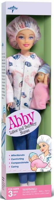 Love this! Labor & Delivery nurse Barbie Would love to get this for my sis who did this job for years
