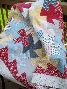 Hometown Twist  -- I have purchased the template and have finished most of the quilt top!