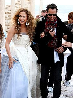 JLO AND MARC ANTHONY Marc Anthony And Jlo, Mariah Carey, Jennifer Lopez, Bella, Bohemian, Wedding Dresses, Style, Image, Fashion