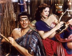 """Samson (Victor Mature) to Delilah (Hedy Lamarr): """"Your arms were quicksand. Your kiss was death. The name Delilah will be an everlasting curse on the lips of men."""" -- from Samson and Delilah (1949) directed by Cecil B. DeMille"""