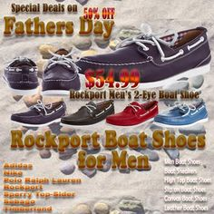Rockport boat shoes for men - Rockport Men's 2-Eye Boat. Discount 50% off on Fathers Days offer. Do not miss this rare opportunity here. Check details and the comparison.