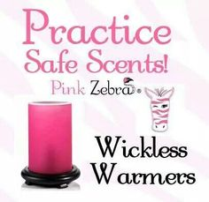 Practice Safe Scents with Pink Zebra! All of our scents are over 50%   US Soft Soy wax. They are 100% safe for children and pets. No open flame. Not harmful fumes or toxins. Nothing negative. Simply irresistable(: Www.pinkzebrahome.com/brittanyhamilton  Xxheybrittanyxx@gmail.com