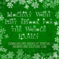 Enjoy this [free] eBook with 35 different Holiday Wish List designs. It's fun for the whole family! You can use them for everything from lists of stocking stuffers, gifts they want to give their friends and for wishes to help change the world. They are super cute. Enjoy! - See more at: