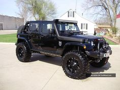 Top 50 Black Jeep Wrangler Unlimited Modifications Photos Collections example http://pistoncars.com/top-50-black-jeep-wrangler-unlimited-modifications-photos-collections-4704