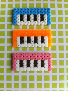 Piano Perler beads sprited -FREE SHIPPING