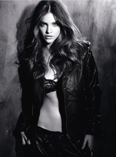 Barbara Palvin. Street style.  Well an edgy editorial version...