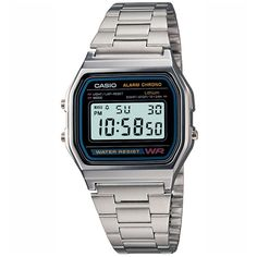 bb3cb4c88d62 Casio silver watch - bought it but gold not black. Daniel Pearce