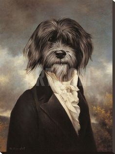 Gavroche Stretched Canvas Print by Thierry Poncelet at Art.com