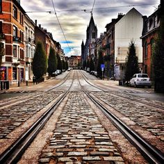 Saturday morning, walkin' in the streets of bruxelles by oluaptang, via Flickr