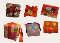 hello sandwich: Gift Wrapping
