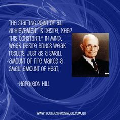 Quote by Napoleon Hill