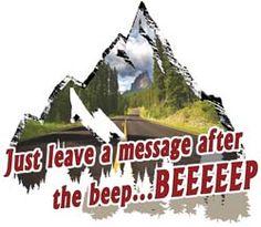 """Beep Beep Decal 7.5"""" x 8.5"""""""