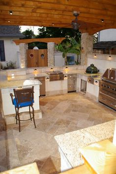 Outdoor Kitchen Design Ideas, Pictures, Remodel, and Decor - page 10