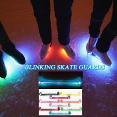 Jerry's Fiber Optics Flashing Skate Guards https://figureskatingstore.com/accessories/blinking-skate-guards/ Blinking Skate guards by US Icewear and Jerry's Skating World light up when you walk. These great quality skate guards are fashion statement for figure skaters. If your child like light up shoes then they will love the blinker skater guards #figureskatingstore #figureskating #iceskating #skating #figureskater #iceskate #icerink #ice #skateshop #icedance #skateguards #blinkingskate…
