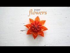 DIY Paper Flower - YouTube
