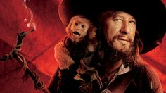 Movie Pirates Of The Caribbean: At World's End  Captain Hector Barbossa Geoffrey Rush Wallpaper