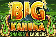 Wil je de top bereiken🔥?  Je kunt dat met behulp van Big Kahuna Snakes and Ladders online casino spel doen🎰. Er zijn 20 winlijnen en 5 wielen in een jungle thematiek🌴, aangedreven door de bekende Microgaming✨. Het komt met veel bijzondere eigenschappen zoals kleurrijke animaties🃏 en natuurlijk de cash prijzen💵.  Probeer maar✔
