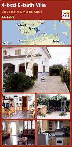 4-bed 2-bath Villa in Los Alcazares, Murcia, Spain ►€325,000 #PropertyForSaleInSpain