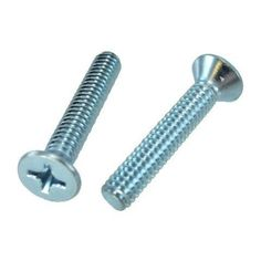 """10/24 X 2"""" Flat Head Phillips Machine Screws (Pack of 12) by Greschlers Inc.. $2.22. 10/24 X 2"""" Flat Head Phillips Machine Screws (Pack of 12)"""