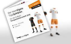 Tipp den Europameister!  Kann sich das Deutsche Team nach ihrem WM-Triumph 2014 auch bei der Europameisterschaft 2016 die Krone aufsetzen? Was tippst du? Der teamElgato TippSpielplan zum Downloaden und Mitspielen!