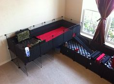 DIY Guinea Pig Cage with a Loft | 11 DIY Guinea Pig Cage Ideas | Fun And Gorgeous Guinea Pig Cage by DIY Ready at http://diyready.com/diy-guinea-pig-cage-ideas/