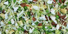 Spidskålssalat til en lun sommeraften. Fabulous Foods, Cobb Salad, Green Beans, Salad Recipes, Vegetarian Recipes, Side Dishes, Recipies, Brunch, Food And Drink