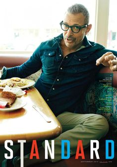 "femburton: "" Jeff ""Vintage Dick"" Goldblum in GQ Magazine, September 2014 "" #Gentleman #follow www.pinterest.com/armaann1  