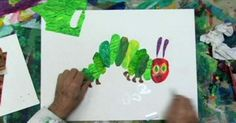 Video Interview: Eric Carle shares how he conceived his famous book, The Very Hungry Caterpillar and shows his collage technique using thin sheets of tissue paper.