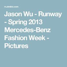 Jason Wu - Runway - Spring 2013 Mercedes-Benz Fashion Week - Pictures