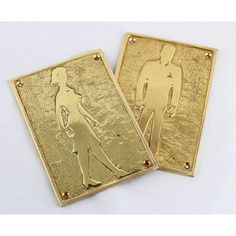 Bathroom Sign Dimensions bog brass sign | bathrooms | pinterest | brass, home and signs