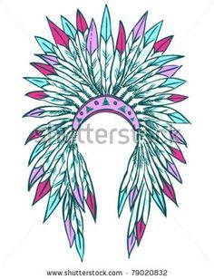 Indian Headdress by Vector Ninja, via ShutterStock