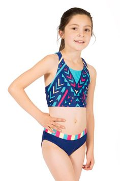 6bcdcc3964010 Cropped Tankini Swimwear for preteen girls by Limeapple the #1 Tween brand  for girls Kids