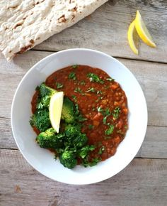 Indisk linsesuppe Indian Curry, Lentil Soup, Garam Masala, Lentils, Chili, Salsa, Mexican, Vegan, Ethnic Recipes