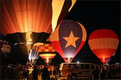 Longview TX Great Balloon Race  I always loved seeing the balloons from my backporch growing up.