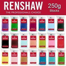 Renshaws Icing Ready To Roll Out 250g Fondant Cake Sugarpaste MULTI-BUY